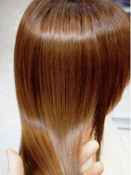チャオ(Ciao)の写真/業界革新!導入型トリートメント【iogus】「潤い」をたっぷり与えて、触り続けたいヴェールな美髪へ…♪