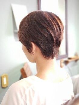 スプーン(SPOON)の写真/【仕上がり長持ち】髪質やクセを活かした自然で抜け感のあるあなた理想のショートヘアを叶えます☆