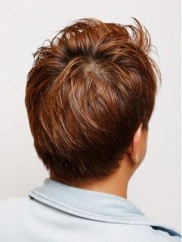 ヘアーラウンジ リアン(hair Lounge Rian)の写真/≪メンズのお客様が多いのも納得≫トレンドに敏感な2人の男性スタイリストが「カッコイイ」を仕上げます♪