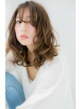 ローレン(LOREN)~RUCE~松嶋花さん風!うざバング色っぽセミディ♪