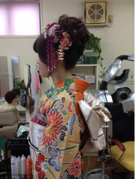 ヘアポケット ナギ(Hair Pocket NAGI)振袖着付け ヘアーセット