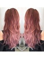 ヘアアンドヒーリング クローバー(Hair&Healing Clover)pink gradation