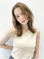 トルネード(TORNADO)韓国風ヘア20代30代40代 くびれミディ マロンベージュM814