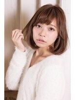 ミンクス ハラジュク(MINX harajuku)☆MINX☆ 2016年 人気髪型 大人可愛いワンカールミディ