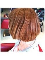 ジェンテ ヘアサプライ(GENTE hair&supply)ボブ グラデーションカラー