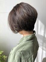 ガーデン ヘアーアンドボタニカル(Garden hair&botanical)【ショートスタイル】前下がりショート