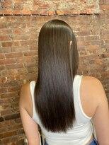 ボンズサロン(BONDZSALON)大人っぽい上質なツヤ髪×髪質改善縮毛矯正【麻布十番六本木】