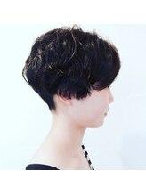 ロンロネ(Hair&Spa ronronne)ボーイッシュショート