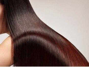 """エクスグレイス 七条店(EX-GRACE)の写真/【七条/駐車場完備】""""美艶""""を実感できる究極ストレート!矯正をしても髪に天使の輪ができるそのワケは…"""