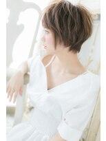 モッズ ヘア 福岡姪浜店(mod's hair)*mod's姪浜*…くせ毛風でルーズなマッシュショートa