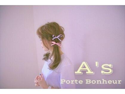 エーズ ポルト ボヌール ビューティ サロン(A's Porte Bonheur BEAUTY SALON)の写真