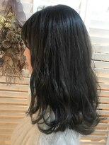 ヘアーアンドメイク ルシア 梅田茶屋町店(hair and make lucia)暗染めならこれ!ブルージュ