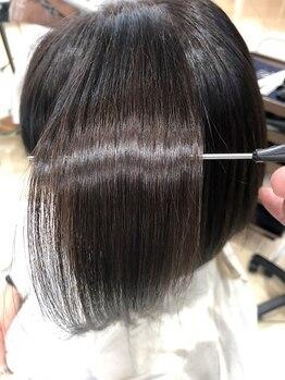 トレース 西尾店(TRACE)の写真/【西尾】業界注目の最新ご褒美ケア♪化学物質未使用の『サイエンスアクア』でうるツヤ健康美髪を手に入れて