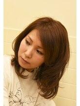 アンシー ヘア デザイン(an-cie hair design+)何気ないニュアンスからの…オシャレミディ