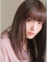 キース ヘアアンドメイク(kith. hair&make)kith.本田×ナチュラルうるつやストレート