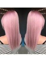 ヘアアンドビューティー クローバー(Hair&Beauty Clover)pink blond