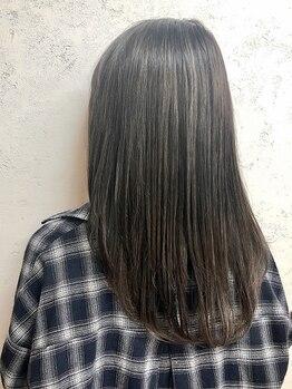 グランジュテ ヘアアンドスパ 新検見川(GRAND JETE Hair&Spa)の写真/GRAND JETEの縮毛矯正はただ伸ばすだけのストレートではありません♪艶・潤いを補充し理想のストレートに♪