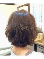 ハロ (Halo hair design)ゆるふわボブ☆愛されクセ毛風カール☆