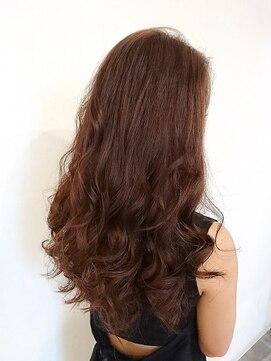 セシルヘアー 岡山駅前店(Cecil hair)ミルキーベージュ×リラクシーロング