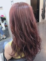 violet + pink