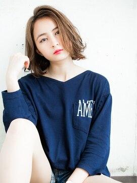リリアン 表参道(relian)かきあげバングのショートヘア☆