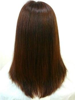 ヘアーサロン 麻衣(Hair Salon)の写真/ダメージをしっかり補修!髪本来の健やかな状態に導くことで艶感UP♪いつでも美しい髪をキープしましょう*
