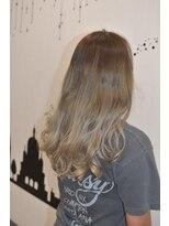 ヘアーサロン エール 原宿(hair salon ailes)(ailes 原宿)style359 グレージュ☆ロンググラデーション