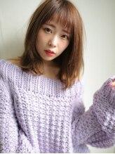 アグ ヘアー ルージュ 中百舌鳥店(Agu hair rouge)こなれ感漂うナチュラルミディ☆