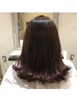 ヘアーエスクール 本店(hair S.COEUR)ピンクアッシュカラー