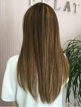 エクラ(ECLAT)の写真/気になるクセも毎日滑らかにまとまるスタイルに♪自然な丸み、空気感を与えたナチュラルな艶髪が実現☆