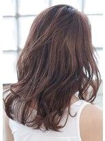 オン眉デザインカラー切りっぱなしボブ美髪マッシュウルフ/241