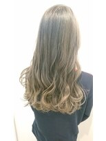 ヘアーリゾートラシックアールプラス(hair resort lachiq R+)《R+》ツートーンカラー☆アッシュ☆グレー