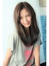 ヘアー ロギア(hair LOGiA)★hair LOGiA★ 〇大人かわいいゆるストレート