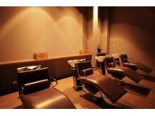 アーチ(ARCH)の雰囲気(個室のシャンプーブース。広々とした贅沢空間です。髪質改善が◎)