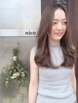 ニコ ヘアーアンドメイク(nico hair&make)ゆるミディアムロング