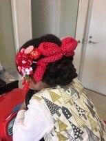 七五三hair set