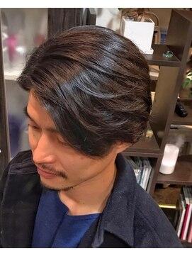 オムヘアーツー (HOMME HAIR 2)#サイドパート#大人ツーブロック#2wayバング#Hommehair2nd 櫻井