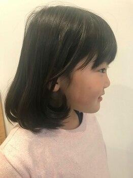 ジョリヘアー(joli hair)の写真/お子様同伴可◎忙しいママがホッと一息つけるオススメSalon―*高い技術力と人柄の良さに満足度◎
