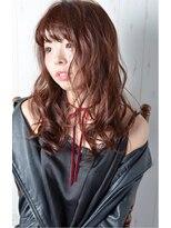 ハロ (Halo hair design)モノトーン×ピンク