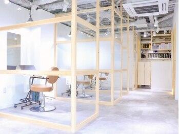 ココノサロン ハナレ(cocono salon HANARE)の写真/《北千住個室サロン》新しい価値を実現!人の目を気にせず、寛ぎながら希望を叶える空間で癒しの時間を…