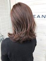 オーシャン ヘアアンドライフ(OCEAN Hair&Life)[OCEAN Hair&Life]ヨシンモリ☆ミディアムウルフ☆