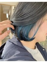 マイ ヘア デザイン(MY hair design)オーシャンブルーカラー