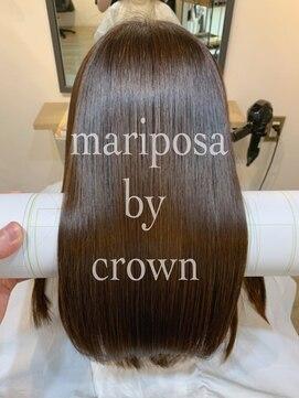 マリポーサ バイ クラウン(mariposa by crown)髪質改善プレミアムカラー