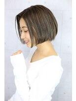 リゾートフォーヘアー 嵯峨店(ReSORT FOR HAIR)おしゃれシンプルボブ