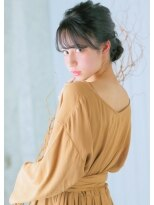 オゥルージュ(Au-rouge noma)【aurouge noma 石井美紗紀】ゆるふわパーティースタイル