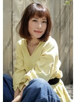 【Noah銀座】30代40代に人気のカジュアル銀座ボブ☆