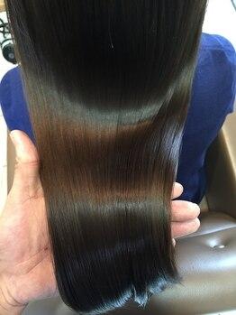 ハーツ(Heart's)の写真/遠くからでも通う価値ありの髪質改善サロン☆ダメージ・広がり・クセ…等の悩みを解消し髪を綺麗にします。