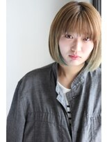 [Espice]やわらかハイトーンボブ&子顔×目力UP