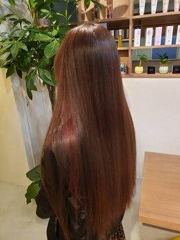 ゴタヘアー(gota hair)の写真/髪のダメージや希望の質感に合わせて経験豊富なスタイリストがご提案♪うるツヤ髪でワンランク上の自分に!