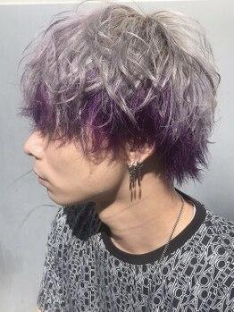 ヘアー ビーアッシュ(hair b:Ash)の写真/【メンズ限定のお得なクーポン登場】デザイン提案に定評アリ◎モデルさんやSHOP店員さんも通う人気サロン。